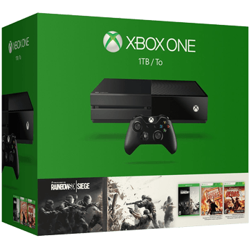 Xbox One Standard + Tom Clancy's Rainbow Six: Siege for just $369.60
