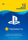 Playstation Plus 12 Months Membership