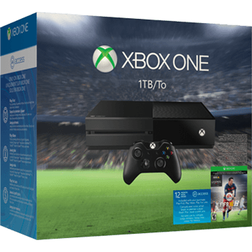 Xbox One Standard + FIFA 16 + 12 Months EA Access for just $318.95