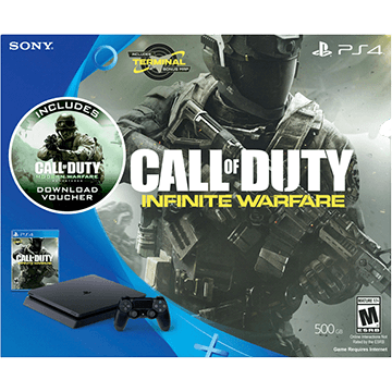 PS4 Slim + Call of Duty: Infinite Warfare + Call of Duty: Modern Warfare Remastered for just $367.01