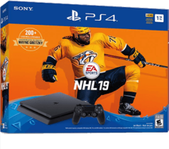 Black PS4 Slim 1TB + NHL 19 from amazon.com for $284.99