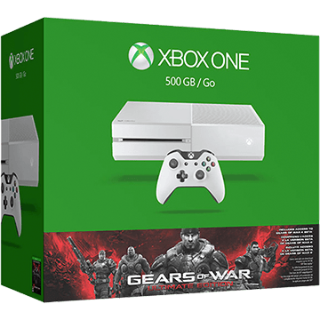 Xbox One Standard + Gears of War: Ultimate Edition for just $287.00