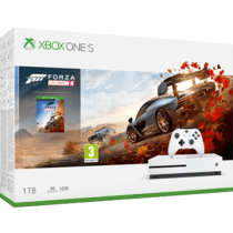 White Xbox One S 1TB + Forza Horizon 4 from amazon.com for $219.99