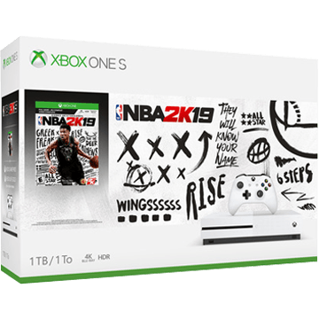 Xbox One S + NBA 2K19 for just $299.99