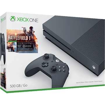 Xbox One S + Battlefield 1 for just $287.45