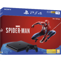 Black PS4 Slim 1TB + Marvel's Spider-Man from amazon.com for $305.00
