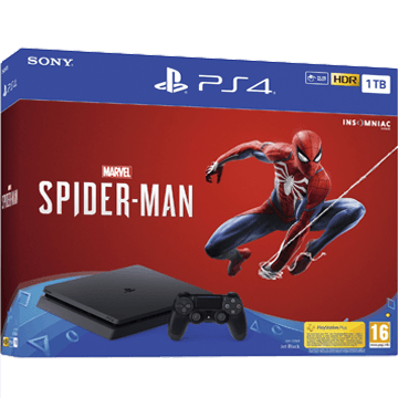 PS4 Slim + Marvel's Spider-Man for just $305.00
