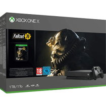 Black Xbox One 1TB + Fallout 76 from ebay - antonline for $419.99
