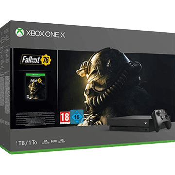 Xbox One X + Fallout 76 for just $369.99