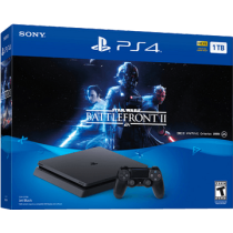 PS4 Slim + Star Wars: Battlefront II for just $398.00