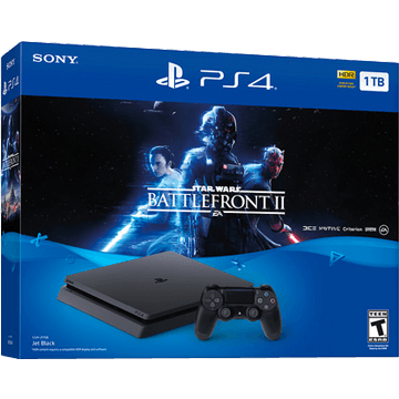 PS4 Slim + Star Wars: Battlefront II for just $368.20