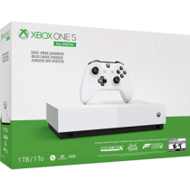 White Xbox One S All-Digital 1TB + Forza Horizon 3, Minecraft and Sea of Thieves from Microsoft Store for $249.00