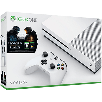 Xbox One S + Halo 5: Guardians + Halo: Master Chief Collection for just $299.99