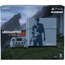 PS4 Standard + Uncharted 4: A Thief's End for just $384.00