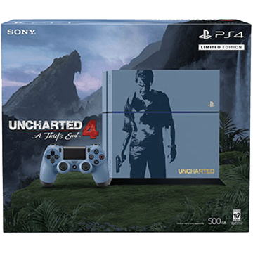 PS4 Standard + Uncharted 4: A Thief's End for just $499.00