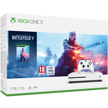 Xbox One S + Battlefield V for just $299.99