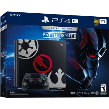 PS4 Pro + Star Wars: Battlefront II for just $579.99