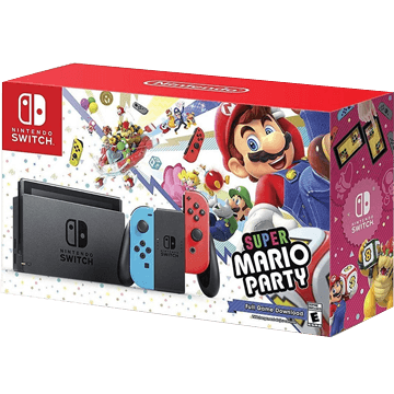 Nintendo Switch Switch + Super Mario Party for just $385.84