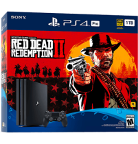 Black PS4 Pro 1TB + Red Dead Redemption 2 from GameStop for $399.99