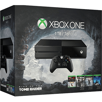 Xbox One Standard bundled with 5 additional items for just $516.97