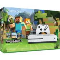 Xbox One S + Minecraft for just $289.00
