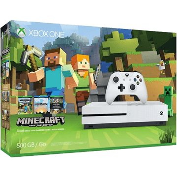 Xbox One S + Minecraft for just $245.00